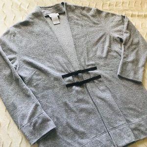 Soft Surroundings terry cardigan